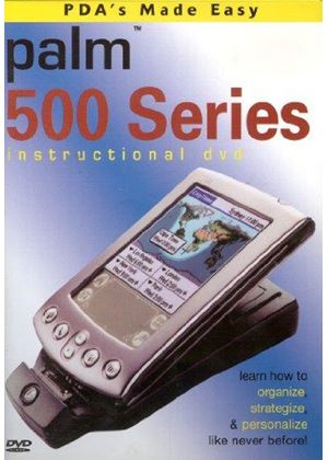 PDA's Made Easy - Palm 500 Series: Instructional DVD
