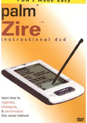 PDA's Made Easy - Palm Zire: Instructional DVD