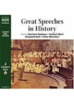 Various Artists - Great Speeches In History (Rodway, West, Bell, Marinker) (Music CD)