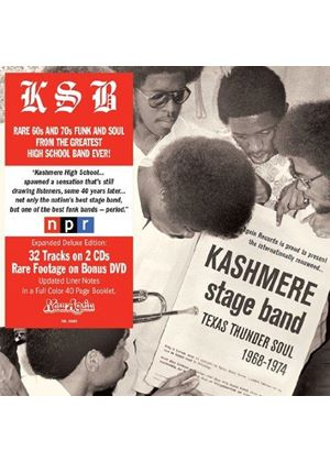 Kashmere Stage Band - Texas Thunder Soul 1968-1974 (+3DVD) (Music CD)