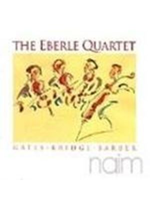 Eberle Quartet play Barber, Bridge & Gates