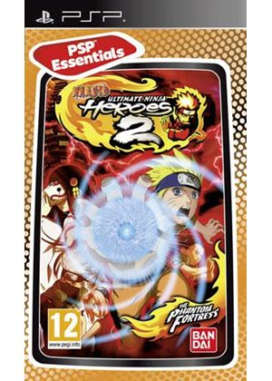 Naruto - Ultimate Ninja Heroes 2: The Phantom Fortress (Essentials) (PSP)