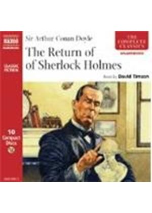 Arthur Conan Doyle - The Return Of Sherlock Holmes (Timson) [10CD Unabridged]