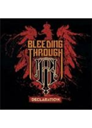 Bleeding Through - Declaration (Music CD)