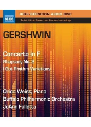 Gershwin: Concerto in F; Rhapsody No. 2; I Got Rhythm (Music CD)