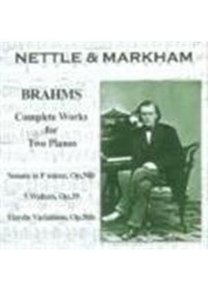Brahms: Complete Works for Two Pianos