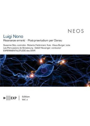 Luigi Nono: Risonanze erranti; Post-prae-ludium per Donau (Music CD)