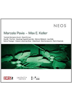 Works of Marcela Pavia & Max E. Keller (Music CD)