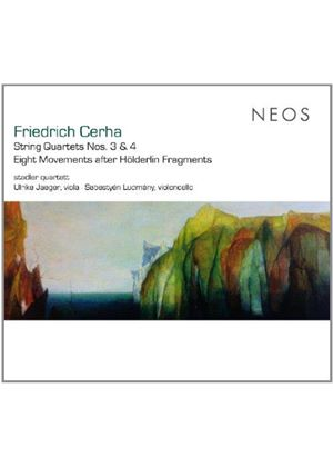 Friedrich Cerha: String Quartets Nos 3 & 4; Eight Movements after Höderlin Fragments (Music CD)