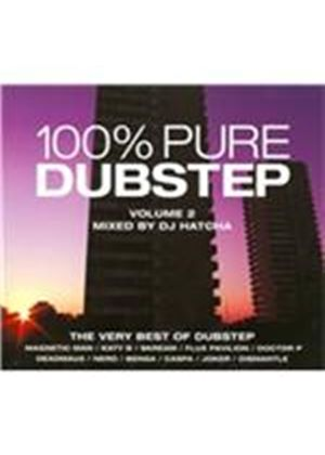 Various Artists - 100% Pure Dubstep Vol 2 (Mixed by DJ Hatcha) (Music CD)