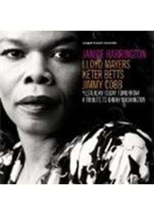 Janice Harrington - Yesterday Today Tomorrow (A Tribute To Dinah Washington) (Music CD)