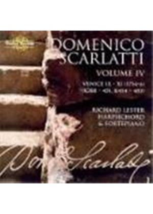 Domenico Scarlatti - Complete Sonatas Vol. 4 (Lester) (Music CD)