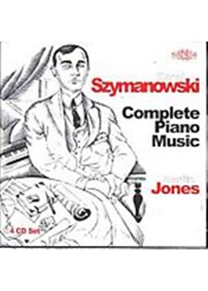 Karol Szymanowski - Complete Piano Music (Jones) (Music CD)