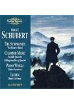 Schubert: Complete Symphonies;Chamber Works; Lieder;Piano Works
