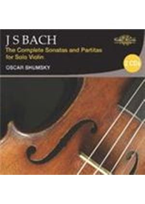 Bach: Complete Sonatas and Partitas for Solo Violin (Music CD)