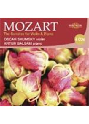 Mozart: Violin and Piano Sonatas (Music CD)