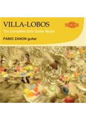 Villia-Lobos: (The) Complete Solo Guitar Music (Music CD)