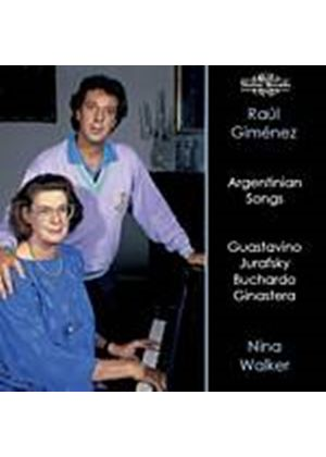 Various Composers - Argentinian Songs (Gimenez, Walker) (Music CD)