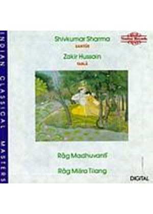 Sharma/Hussain - Rag Madhuvanti/Rag Misra Tilang (Music CD)