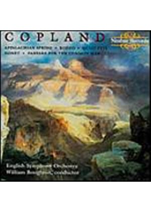 Aaron Copland - Appalachian Spring, Rodeo, Quiet City, Nonet (Boughton, ESO) (Music CD)