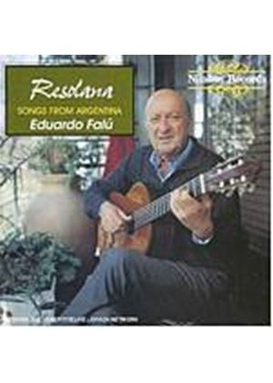 Eduardo Falu - Resolana - Songs From Argentina (Music CD)
