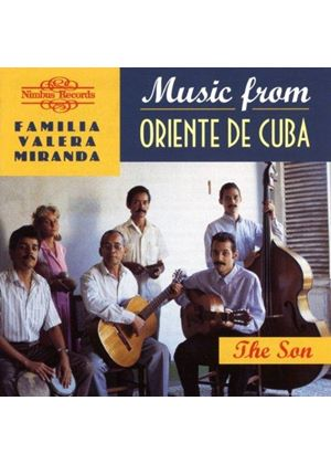 Various Artists - MUSIC FROM ORIENTE DE CUBA - SON