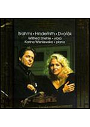 Brahms/Hindemith - Sonata For Viola & Piano Op.120 No.1 In F (Trauermusik, SO) (Music CD)