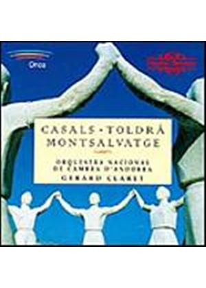 Various Composers - Casals, Toldra & Montsalvatge Orchestral Works (Claret) (Music CD)