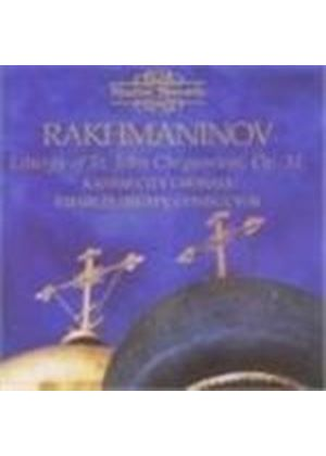 Rachmaninov: Liturgy of St John Chrysostom, Op 31