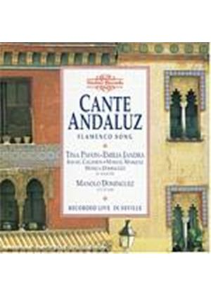 Various Composers - Cante Andaluz, Flamenco Song Recorded Live In Seville (Music CD)