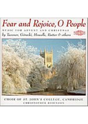 St. Johns College Choir/Robinson - Fear And Rejoice O People (Music CD)