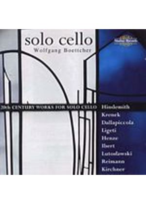 Various Composers - 20th Century Works For Solo Cello (Wolfgang Coettcher) (Music CD)