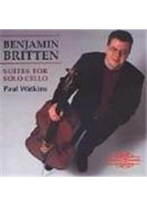 Britten: (3) Suites for Cello Solo
