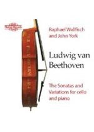 Beethoven - SONATAS & VARIATIONS CELLO & PIANO