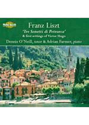 Franz Liszt - Sonetti Di Petrarca/First Settings Of Victor Hugo (Neill) (Music CD)