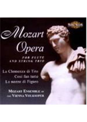Wolfgang Amadeus Mozart - Opera For Flute And String Trio (Mozart Ensemble Of The VV) (Music CD)