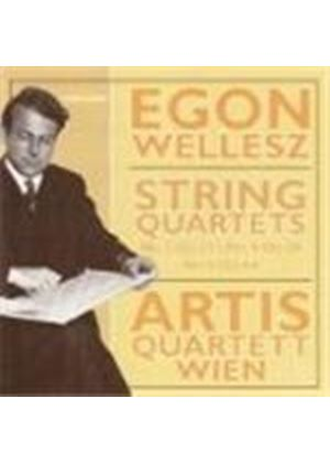 Wellesz: String Quartets Nos 3, 4 & 6