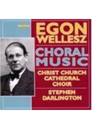 Wellesz: Choral Works (Music CD)