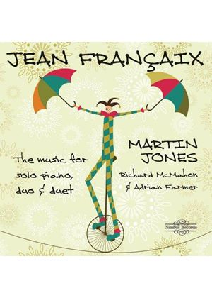 Jean Françaix: The Music for Solo Piano, Duo & Duet (Music CD)