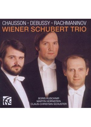Wiener Schubert Trio Plays Chausson, Debussy, Rachmaninov (Music CD)
