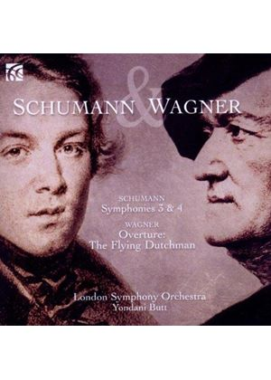 Schumann: Symphonies Nos. 3 & 4; Wagner: Overture: The Flying Dutchman - LSO (Music CD)