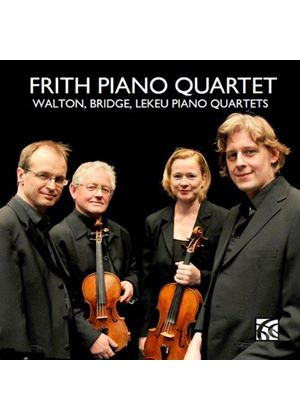 Walton, Bridge, Lekeu: Piano Quartets (Music CD)