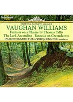 Ralph Vaughan Williams - Greensleeves/Tallis/Lark Asce (English String Orch) (Music CD)