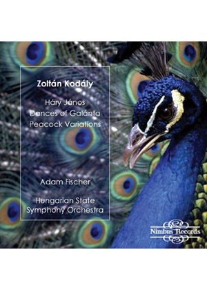 Zoltan Kodaly - Hary Janos, Dance Of Galanta, Peacock Variations (Fischer) (Music CD)