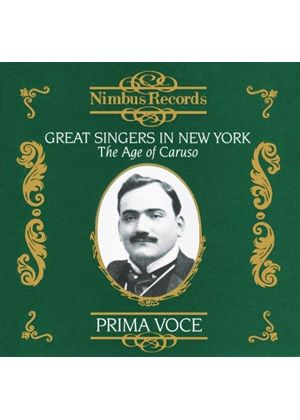 Various Artists - GREAT SINGERS IN NEW YORK - AGE OF