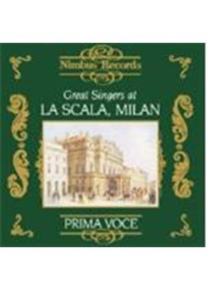 Various Artists - GREAT SINGERS AT LA SCALA
