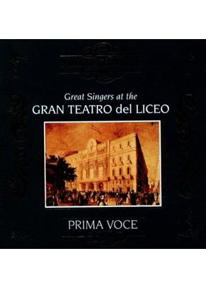 Various Artists - GREAT SINGERS AT GRAN TEATRO LICEO
