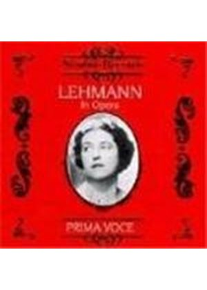 Lotte Lehmann in Opera, Vol.1