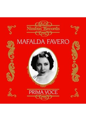 Mafalda Favero - Recordings from 1929 -1946