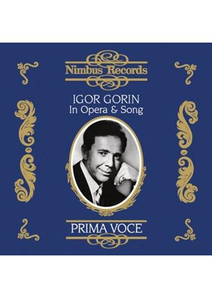 Igor Gorin in Opera and Song